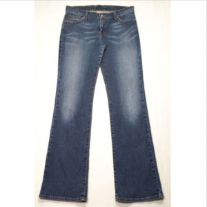 LUCKY BRAND Women Blue Mid Rise Flare Jeans 1685E2